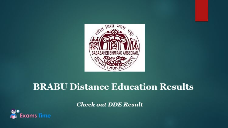 BRABU Distance Education Results - Check out DDE Result